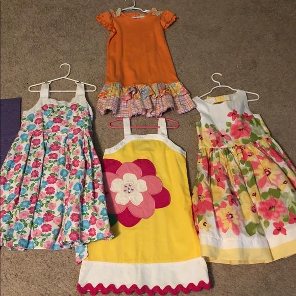 eec9b70e17cd Gymboree Dresses | Girls Dress Lot Sizes 79 | Poshmark
